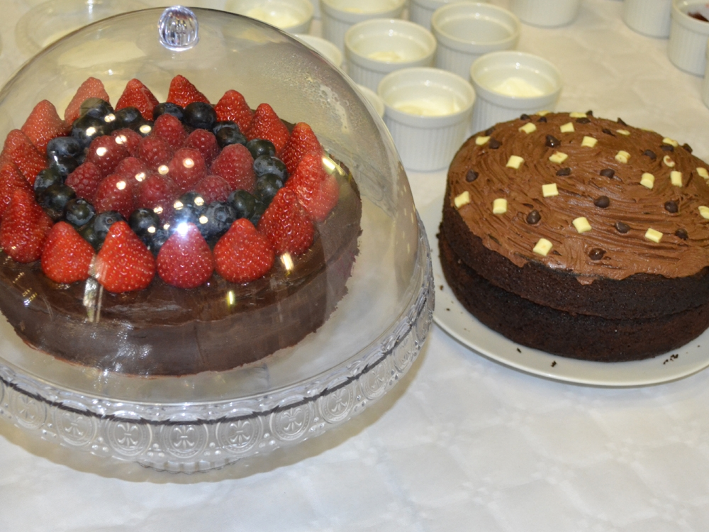 Cakes for awareness event 2014 - raffle prizes